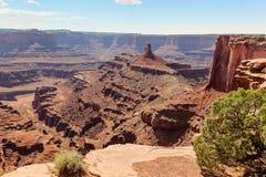 Moab Utah, arcos y parques nacionales de Canyonlands Fotografía de archivo