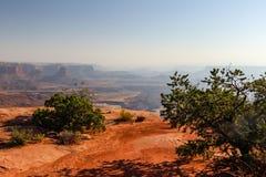 Moab Utah, arcos y parques nacionales de Canyonlands Foto de archivo