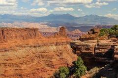 Moab Utah, arcos y parques nacionales de Canyonlands Fotografía de archivo libre de regalías