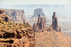 Moab Utah, arcos y parques nacionales de Canyonlands Imagenes de archivo
