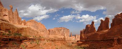Moab Utah Park Avenue Royalty Free Stock Image