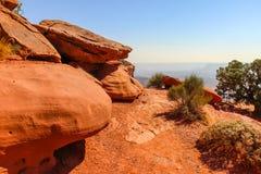 Moab Utah, voûtes et parcs nationaux de Canyonlands Photographie stock libre de droits