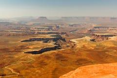 Moab Utah, voûtes et parcs nationaux de Canyonlands Photo stock