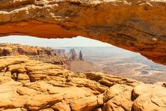 Moab Utah, voûtes et parcs nationaux de Canyonlands Photo libre de droits