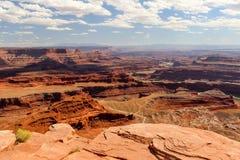 Moab Utah, voûtes et parcs nationaux de Canyonlands Photos libres de droits