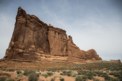 Moab Utah wölbt Naturschutzpark-Felsen 2 lizenzfreie stockfotos