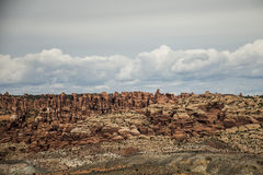 Moab Utah wölbt Naturschutzpark-Felsen 5 stockbilder