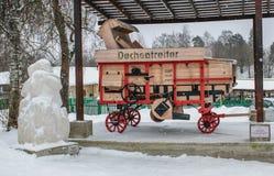 Moagem alemão 30 anos Fotografia de Stock