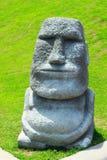 Moai在咖啡店在泰国 免版税库存照片