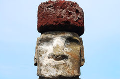 Moai - île de Pâques Photos stock