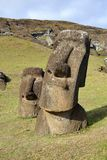 Moai на острове пасхи Стоковая Фотография RF