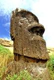 moai острова пасхи Стоковое фото RF