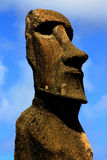 Moai Fotografie Stock Libere da Diritti