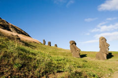 Moai Stock Foto's