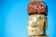 Moai Closeup Royalty Free Stock Image