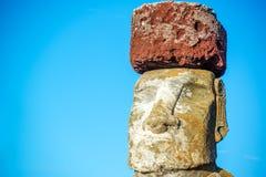 Moai Closeup Royalty Free Stock Image