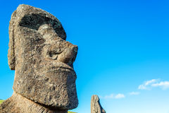 Moai Closeup Stock Image