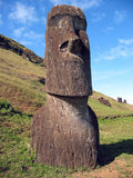 Moai of Easter Island Royalty Free Stock Photos