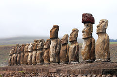 Moai - Easter Island Royalty Free Stock Photography