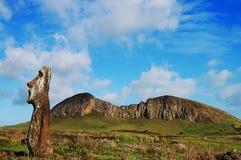 Moai - Easter Island Royalty Free Stock Photo