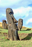 Moai- Easter Island stock images