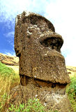 Moai- Easter Island Royalty Free Stock Photo