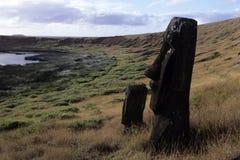 Moai- Easter Island, Chile Royalty Free Stock Photo
