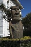 Moai em Vina del Mar Fotos de Stock Royalty Free