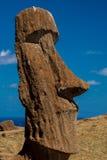 Moai enfrenta Fotos de Stock