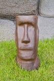 Moai Hauptstatue. Lizenzfreie Stockfotos