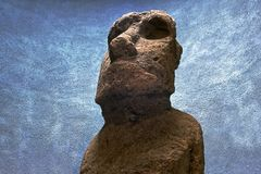 Moai Head royalty free stock photos