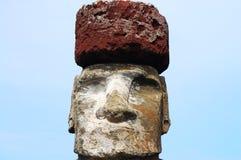 Moai - påskö Arkivfoton
