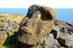 Moai statua Zdjęcia Stock
