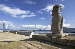Moai statue Royalty Free Stock Photo