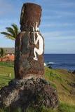 Moai statue, Easter Island, Chile Stock Image