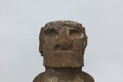 Moai-Statue in Osterinsel Lizenzfreies Stockfoto