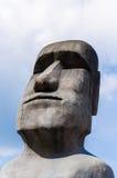Moai statues Royalty Free Stock Photos