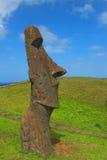 Moai sur l'île de Pâques photos libres de droits