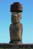 Moai at Tahai on Easter Island Royalty Free Stock Photography