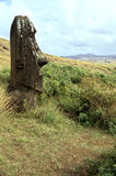 Moais- Easter Island, Chile Royalty Free Stock Images