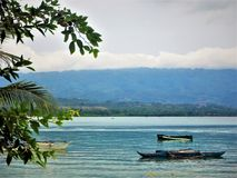 Moalboal Cebu stockbilder