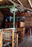 Moalboal-Touristen-Restaurants lizenzfreie stockbilder