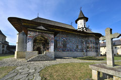 moaldavian monaster Fotografia Stock