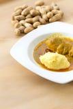 MOAMBA tradycyjny Afrykański jedzenie Zdjęcia Stock