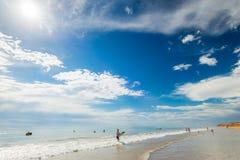 Moana海滩,南澳大利亚 库存照片