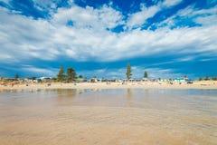 Moana海滩,南澳大利亚 库存图片