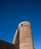 Moasca, Piedmont, Italy: tower Royalty Free Stock Photography