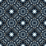 Moasic tiled oriental vector seamless pattern. This is file of EPS10 format Stock Photography