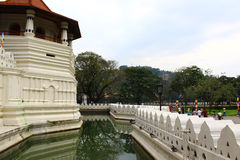 The moat around the Royal Palace. Kandy Royalty Free Stock Photo