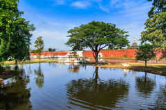 Moat Bago Stock Photo